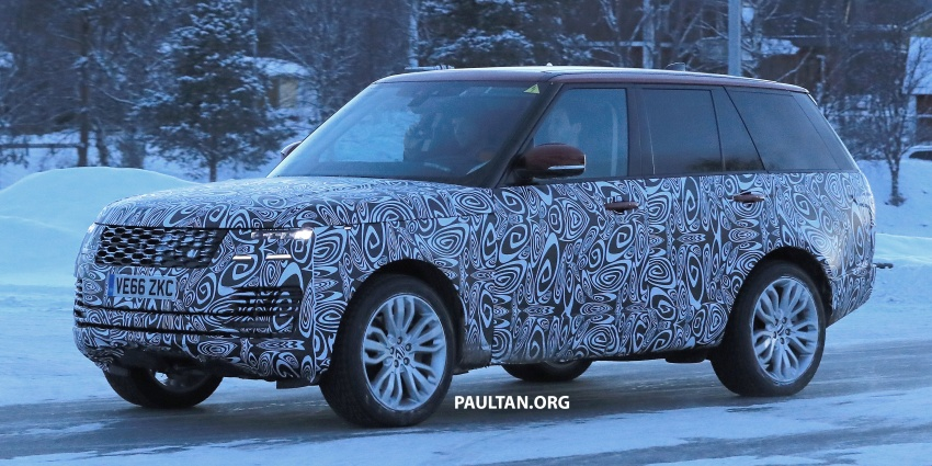 SPYSHOTS: L405 Range Rover facelift spotted testing – plug-in hybrid variant to lead revised model charge? Image #619520