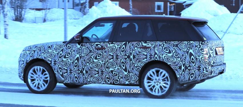 SPYSHOTS: L405 Range Rover facelift spotted testing – plug-in hybrid variant to lead revised model charge? Image #619526