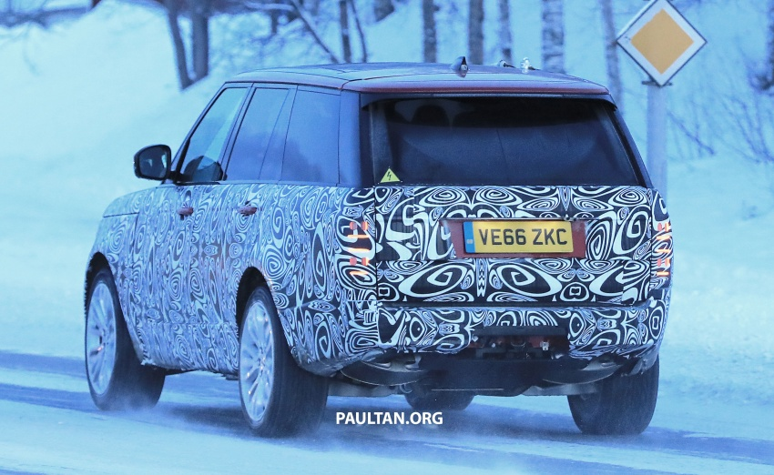 SPYSHOTS: L405 Range Rover facelift spotted testing – plug-in hybrid variant to lead revised model charge? Image #619529