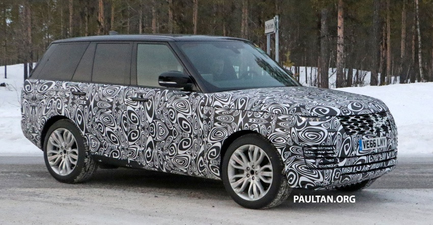 SPYSHOTS: L405 Range Rover facelift spotted testing – plug-in hybrid variant to lead revised model charge? Image #619649