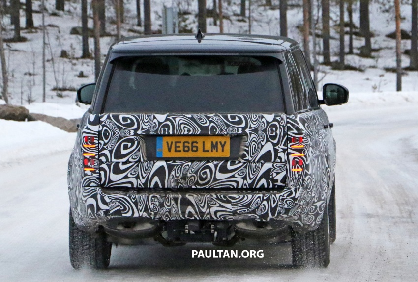 SPYSHOTS: L405 Range Rover facelift spotted testing – plug-in hybrid variant to lead revised model charge? Image #619658