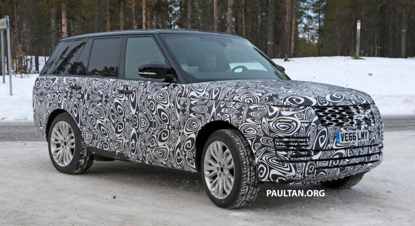 SPYSHOTS: L405 Range Rover facelift spotted testing – plug-in hybrid variant to lead revised model charge? Image #619651
