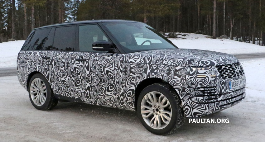 SPYSHOTS: L405 Range Rover facelift spotted testing – plug-in hybrid variant to lead revised model charge? Image #619652