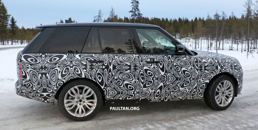 SPYSHOTS: L405 Range Rover facelift spotted testing – plug-in hybrid variant to lead revised model charge? Image #619653