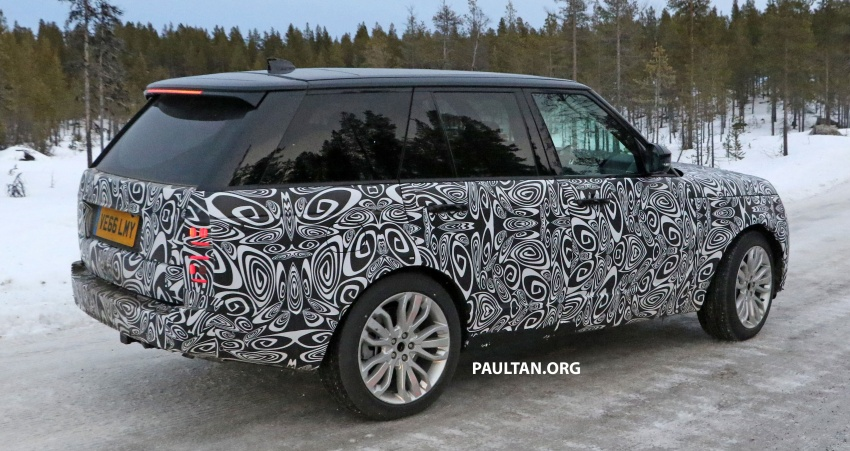 SPYSHOTS: L405 Range Rover facelift spotted testing – plug-in hybrid variant to lead revised model charge? Image #619655