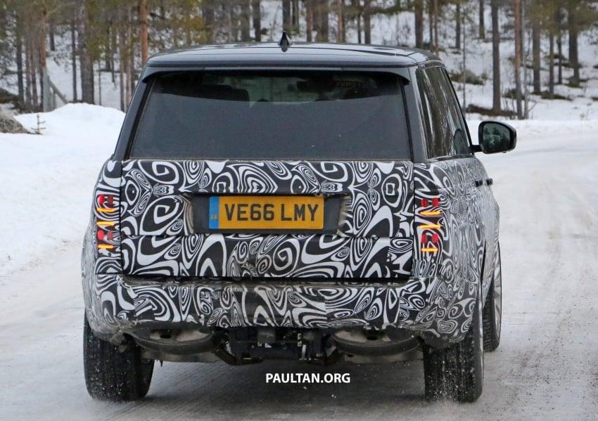 SPYSHOTS: L405 Range Rover facelift spotted testing – plug-in hybrid variant to lead revised model charge? Image #619657