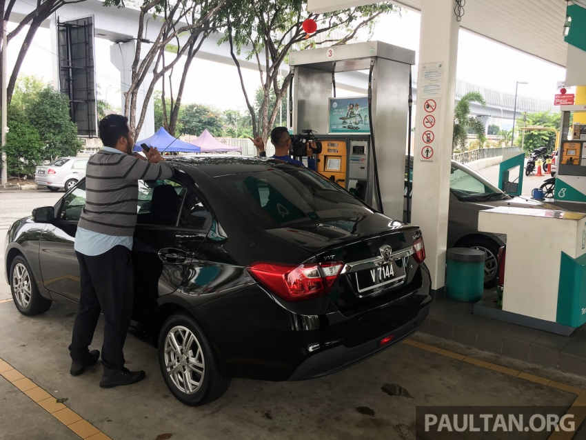RON 95 vs RON 97 fuel test with the Proton Saga – is the more expensive option better than the other? Image #614386