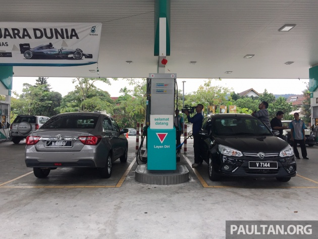 RON 95 vs RON 97 fuel test with the Proton Saga – is the more