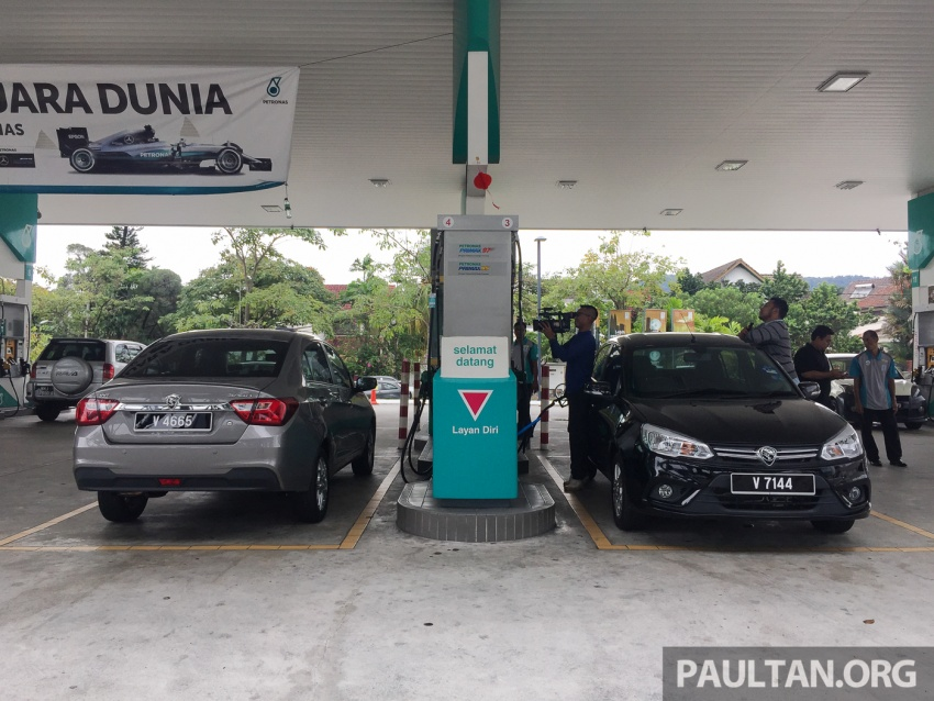 RON 95 vs RON 97 fuel test with the Proton Saga – is the more expensive option better than the other? Image #614387