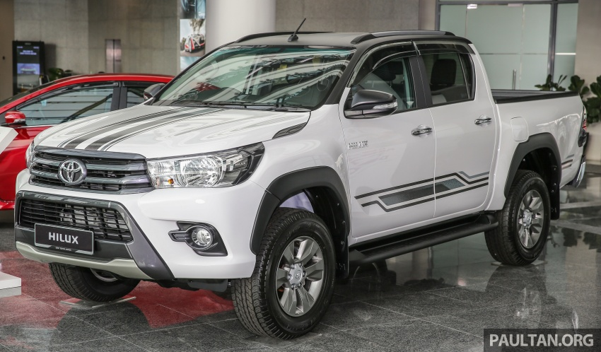 Back to Story: GALLERY: Toyota Hilux 2.4G Limited Edition up close