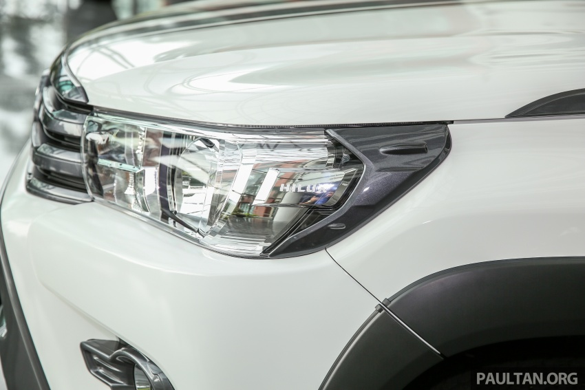 GALLERY: Toyota Hilux 2.4G Limited Edition up close Image #617929