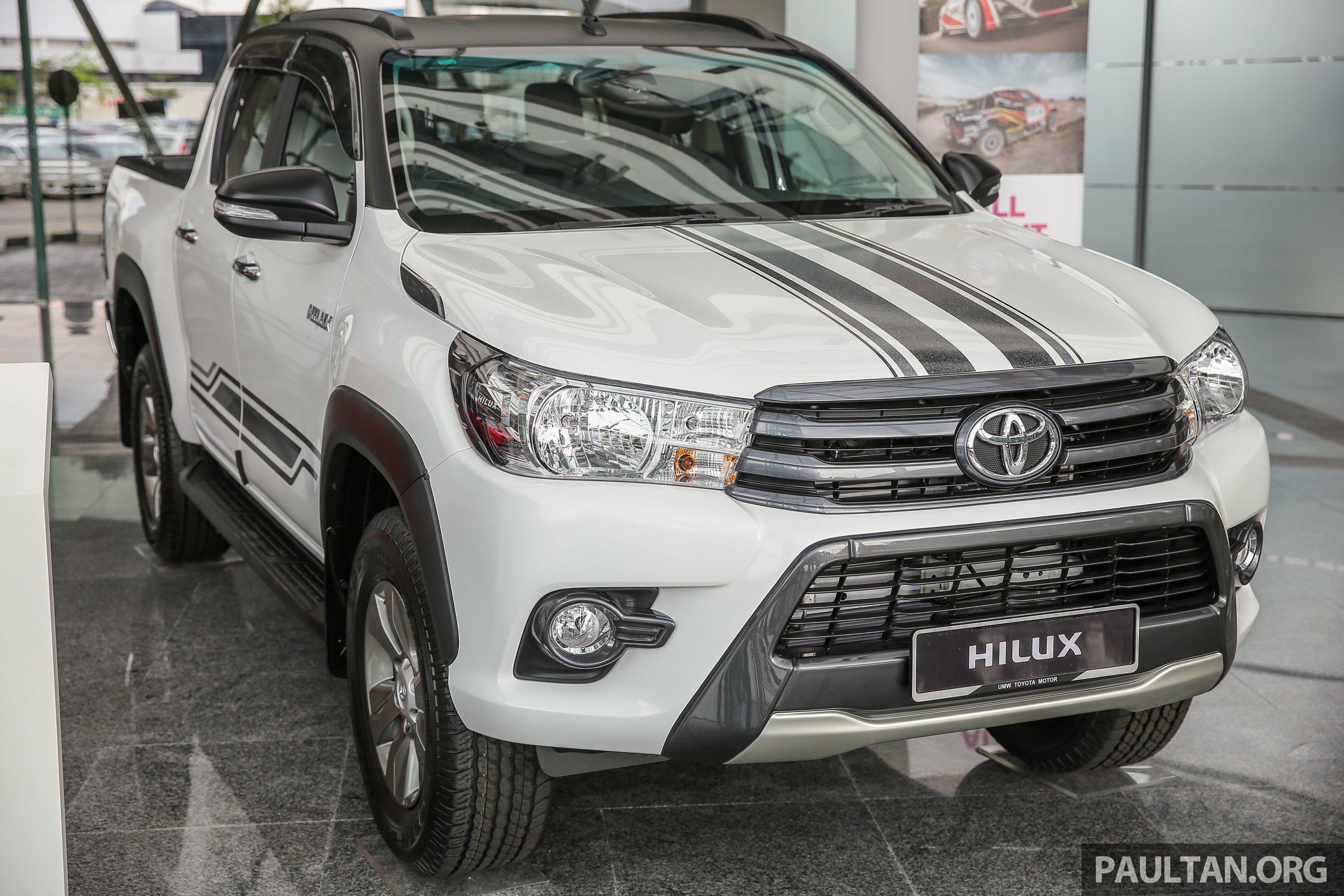 GALERI: Toyota Hilux 2.4G Edisi Terhad lebih bergaya Paul ...