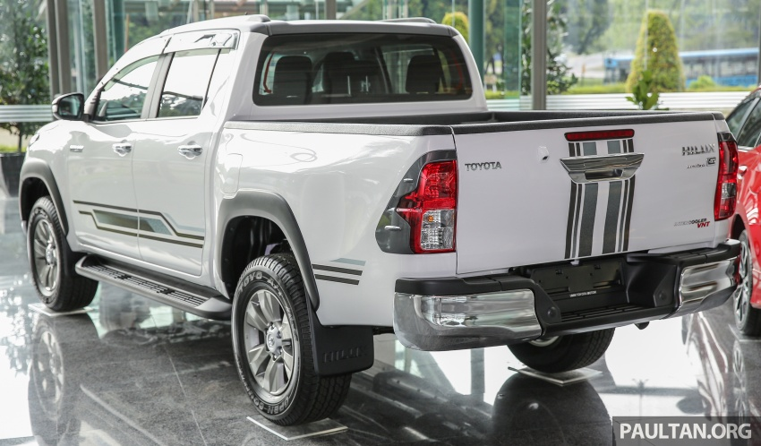 GALLERY: Toyota Hilux 2.4G Limited Edition up close Image #617922