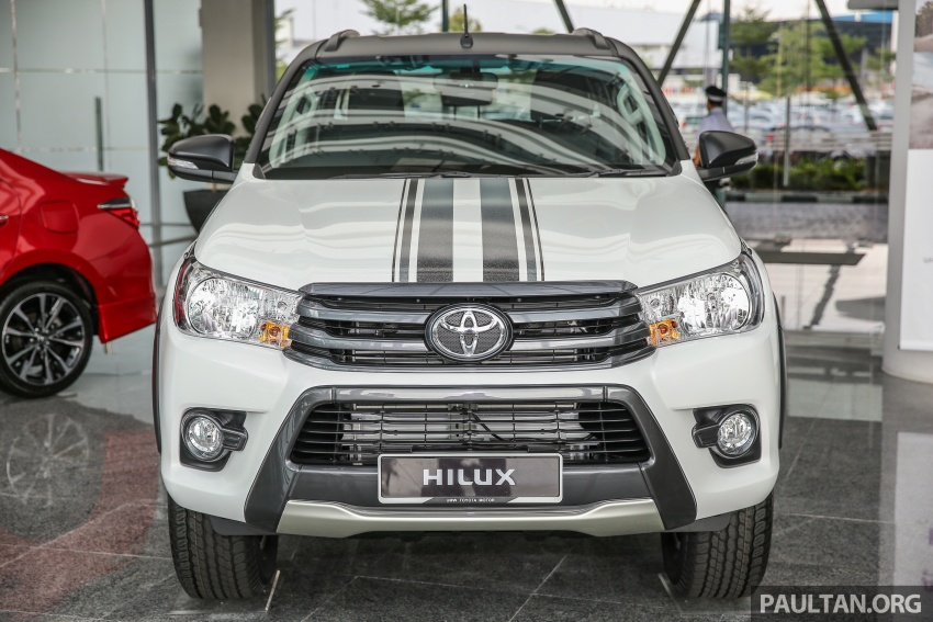 GALLERY: Toyota Hilux 2.4G Limited Edition up close Image #617924