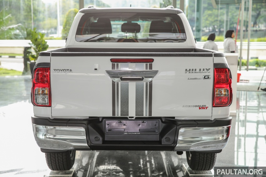 GALLERY: Toyota Hilux 2.4G Limited Edition up close Image #617925