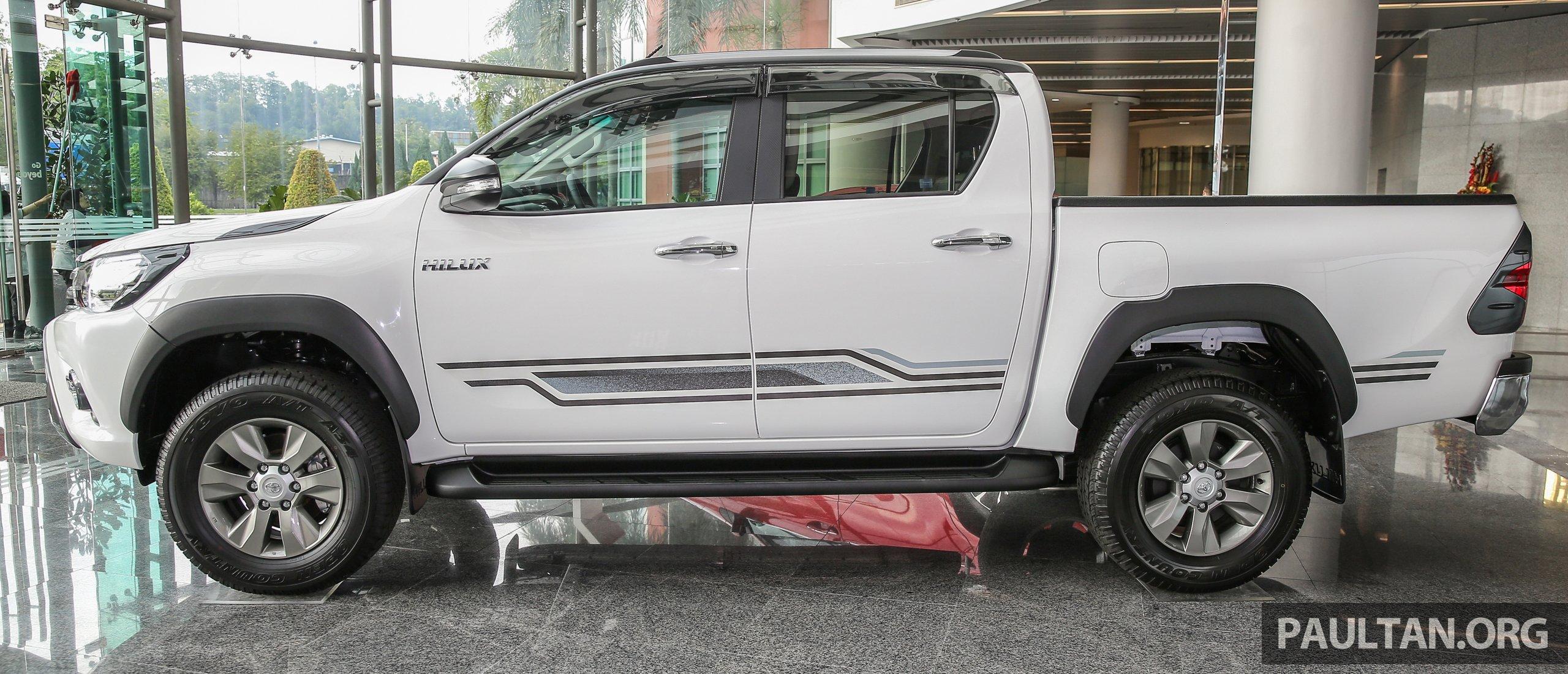 GALERI: Toyota Hilux 2.4G Edisi Terhad lebih bergaya Image 618026