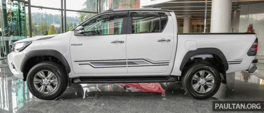 GALLERY: Toyota Hilux 2.4G Limited Edition up close Image #617926
