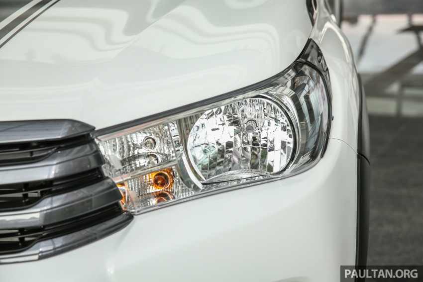 GALLERY: Toyota Hilux 2.4G Limited Edition up close Image #617928