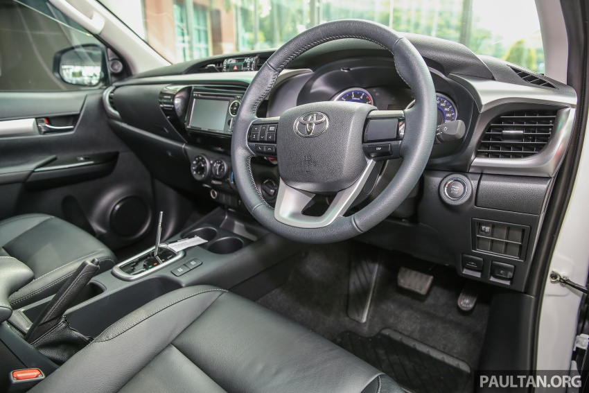GALLERY: Toyota Hilux 2.4G Limited Edition up close Image #617953