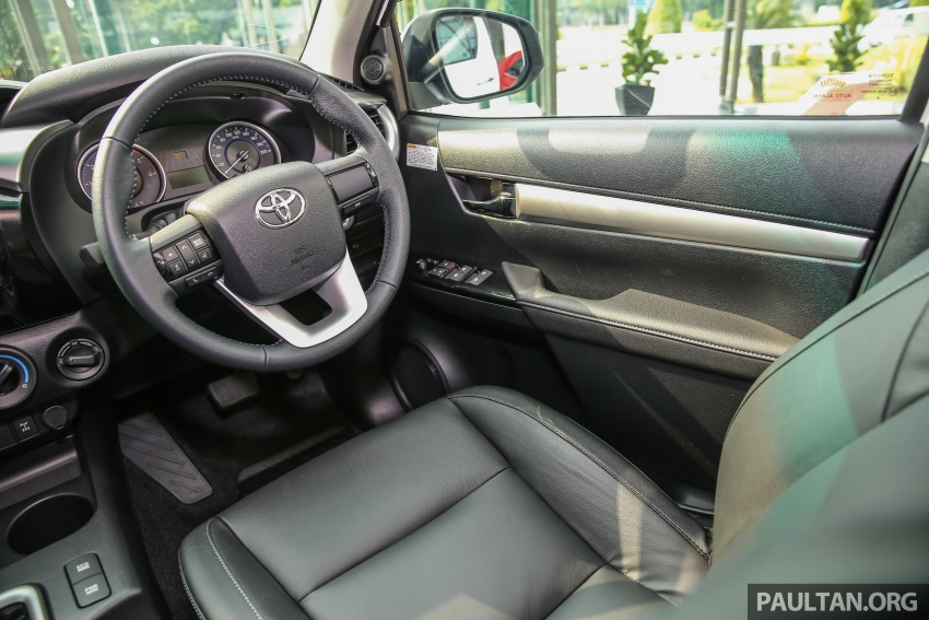 GALLERY: Toyota Hilux 2.4G Limited Edition up close Image #617970
