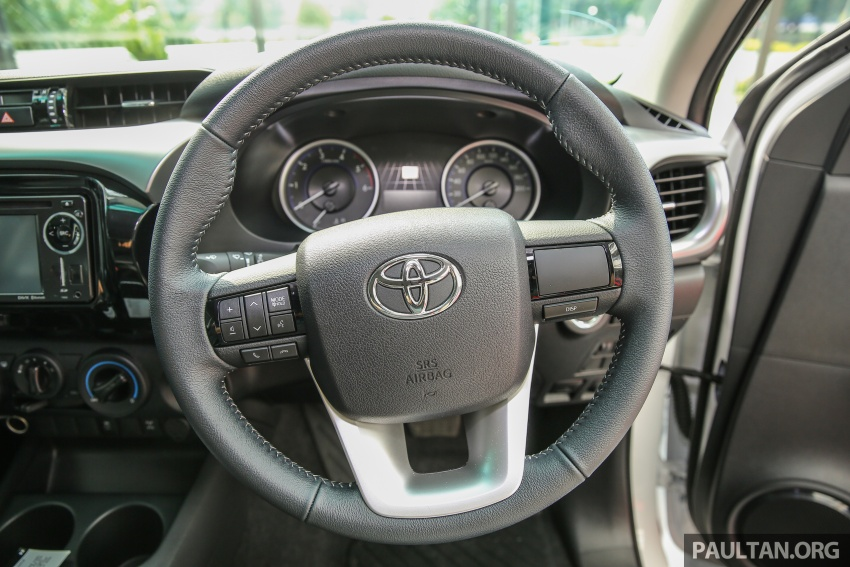 GALLERY: Toyota Hilux 2.4G Limited Edition up close Image #617955