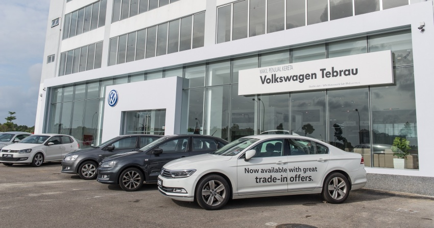 Volkswagen Tebrau – new 3S centre launched in Johor Image #617511