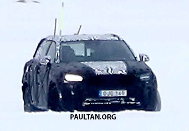 SPYSHOTS: Volvo XC40 testing with production body Image #612226