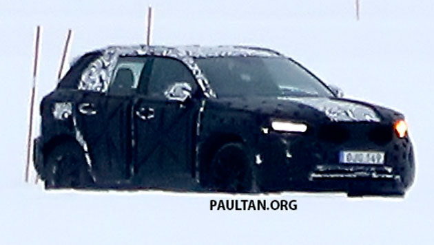 SPYSHOTS: Volvo XC40 testing with production body Image #612222