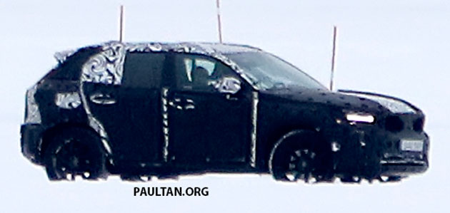 SPYSHOTS: Volvo XC40 testing with production body Image #612228