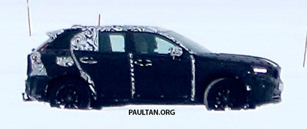 SPYSHOTS: Volvo XC40 testing with production body Image #612229