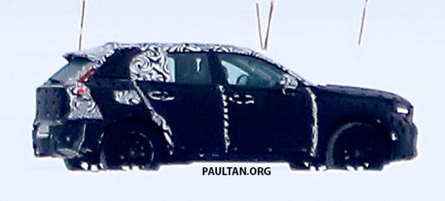 SPYSHOTS: Volvo XC40 testing with production body Image #612230