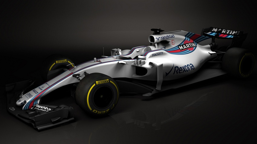 Williams FW40 – 2017 F1 car revealed in first images Image #617479