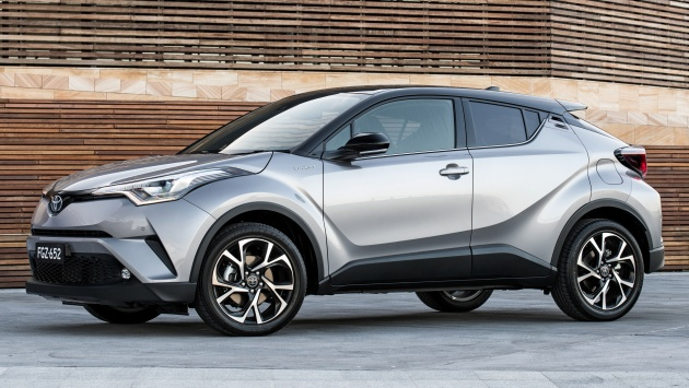 toyota c hr launched in australia priced from rm92k