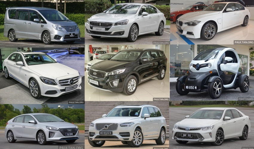 With fuel prices on the rise, time for a hybrid or diesel? Here's a complete list of what's available in Malaysia Image #610339