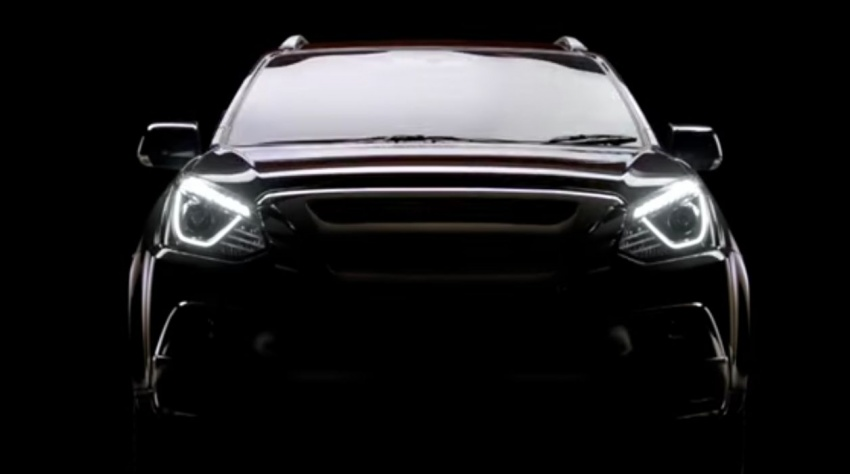 2017 Isuzu MU-X facelift teased ahead of March debut Image #616089
