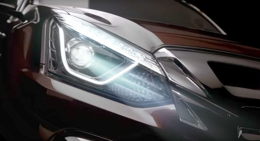 2017 Isuzu MU-X facelift teased ahead of March debut Image #616090
