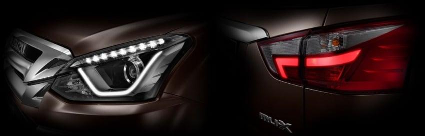 2017 Isuzu MU-X facelift teased ahead of March debut Image #617251