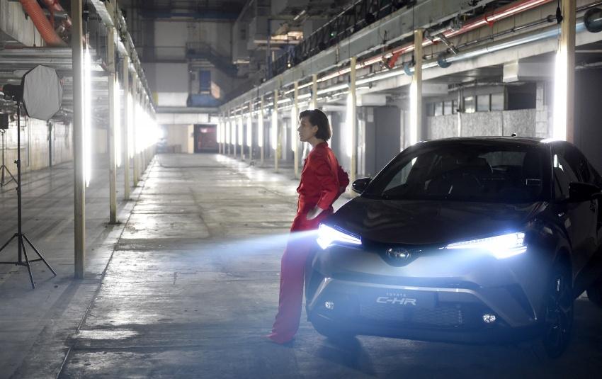 Toyota C-HR stars in drive-through immersive theatre Image #613196