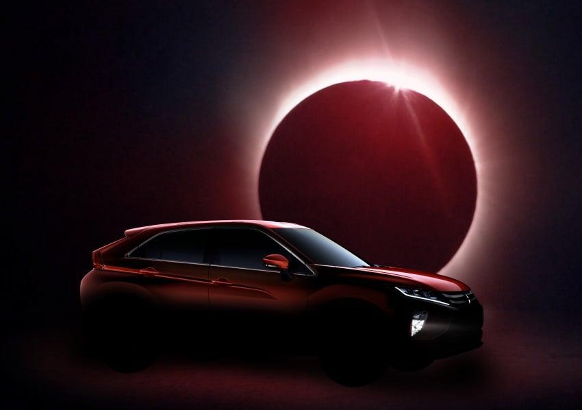 "Mitsubishi Eclipse Cross revealed – the ASX ""coupe"" Image #621776"