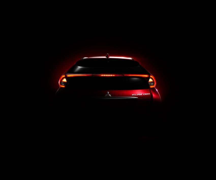 "Mitsubishi Eclipse Cross revealed – the ASX ""coupe"" Image #621772"