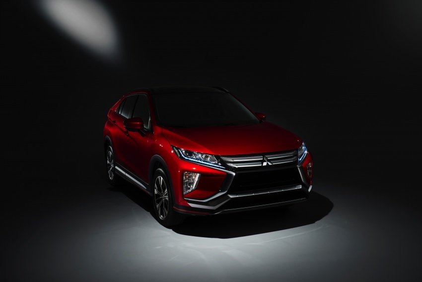 "Mitsubishi Eclipse Cross revealed – the ASX ""coupe"" Image #621727"
