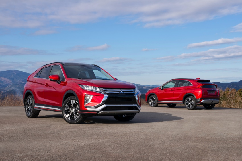 "Mitsubishi Eclipse Cross revealed – the ASX ""coupe"" Image #621770"