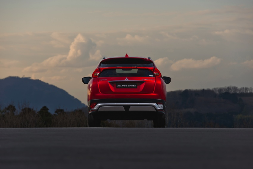 "Mitsubishi Eclipse Cross revealed – the ASX ""coupe"" Image #621764"