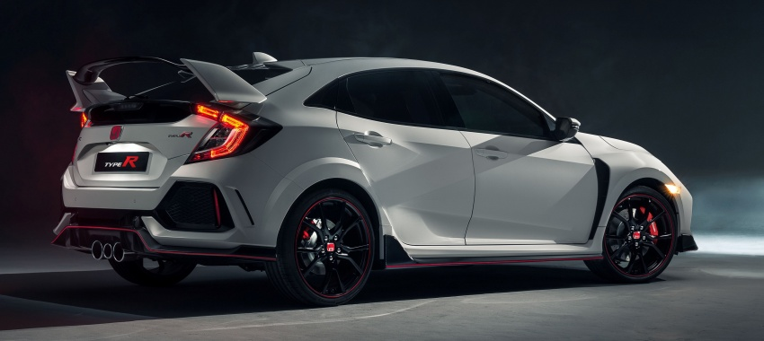 2017 Honda Civic Type R unveiled with 320 PS, 400 Nm Image #625406