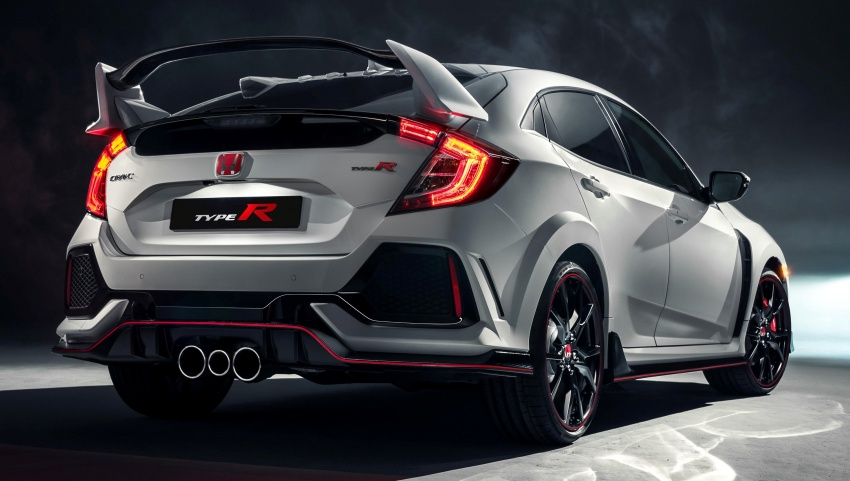 2017 Honda Civic Type R unveiled with 320 PS, 400 Nm Image #625407