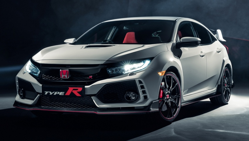 2017 Honda Civic Type R unveiled with 320 PS, 400 Nm Image #625408