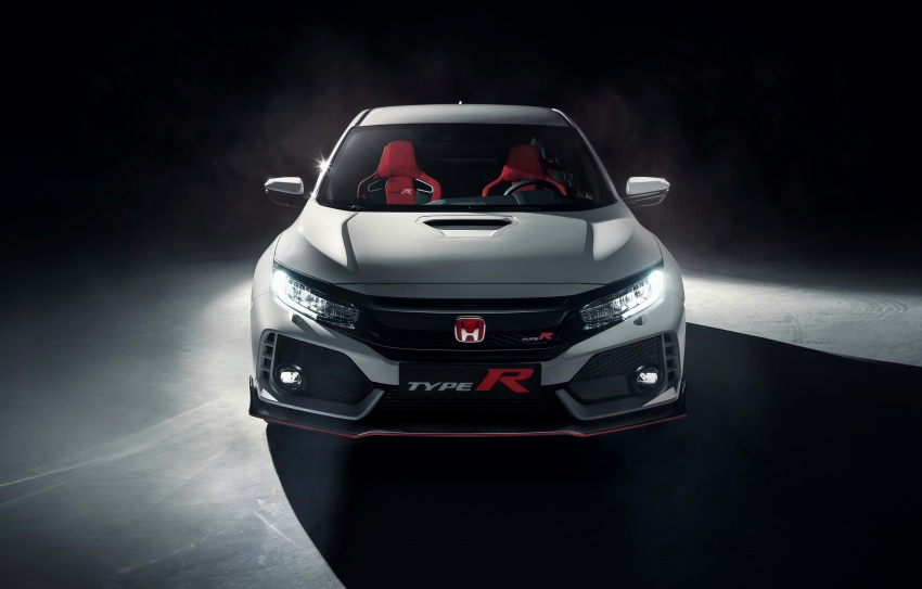 2017 Honda Civic Type R unveiled with 320 PS, 400 Nm Image #625409