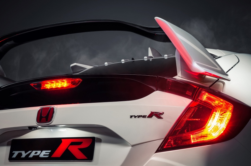 2017 Honda Civic Type R unveiled with 320 PS, 400 Nm Image #625412
