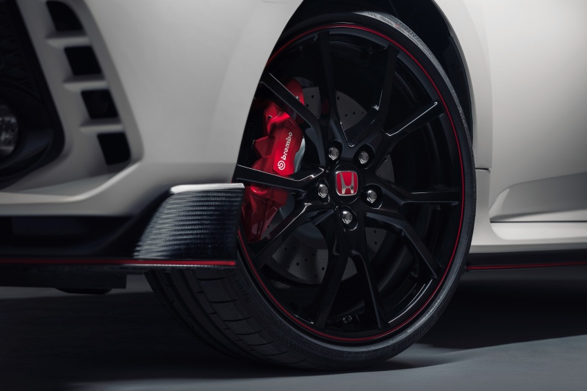 2017 Honda Civic Type R unveiled with 320 PS, 400 Nm Image #625415