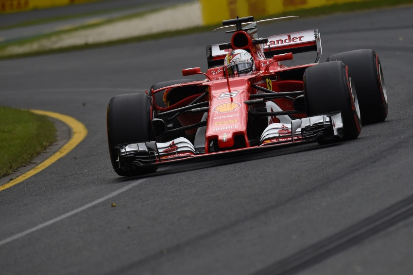 2017 Australian GP – Vettel clinches victory for Ferrari Image #634763